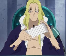 Бэзил Хокинс в аниме после таймскипа.