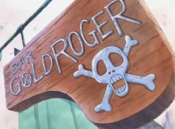 Bar Gold Roger