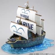 GSC Marine Warship maqueta armada