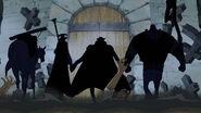 Kurohige und seine Bande entern Impel Down