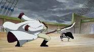 Shanks und Shirohige gehen aufeinander los