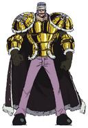 Don Krieg Anime Concept Art