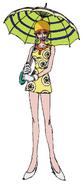 Miss Valentine Anime Concept Art