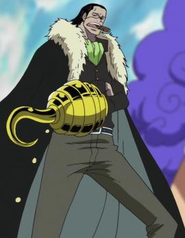 Crocodile in the anime