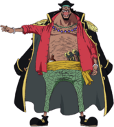 Blackbeard Anime Concept Art