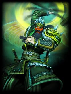 Hito Hito no Mi, Model: Guan Yu