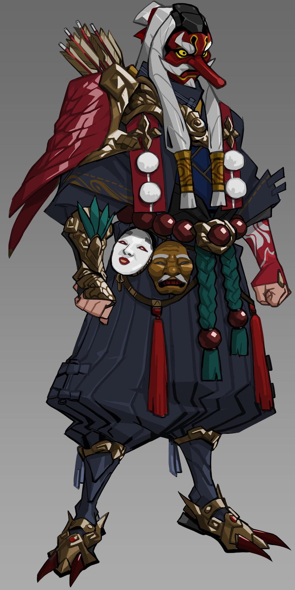Spirit D. Tengu
