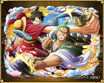 Luffytaro Zorojuro Land Of Wano Savior One Piece Treasure Cruise Wiki Fandom