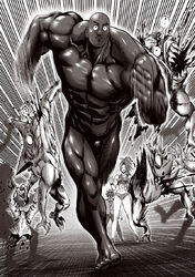 Superalloy Darkshine runs through monsters