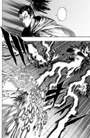 Atomic Samouraï tranche des éclairs de feu