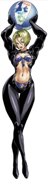 Noria Colored from Volume 21's back cover