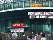 Супер Стадион, аниме