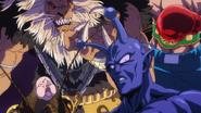 Saitama y los kaijin que venció