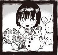 Fubuki de niña