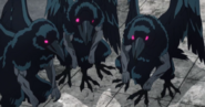 Три Ворона, аниме
