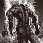 Garou evolves after his fight against Royal Ripper and Bug God.png