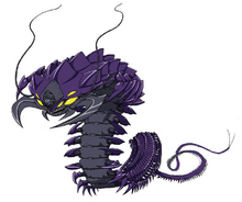 Elder Centipede Settei Sheet