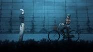 Garou and Mumen Rider meet