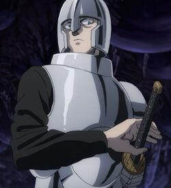 Iaian with helmet
