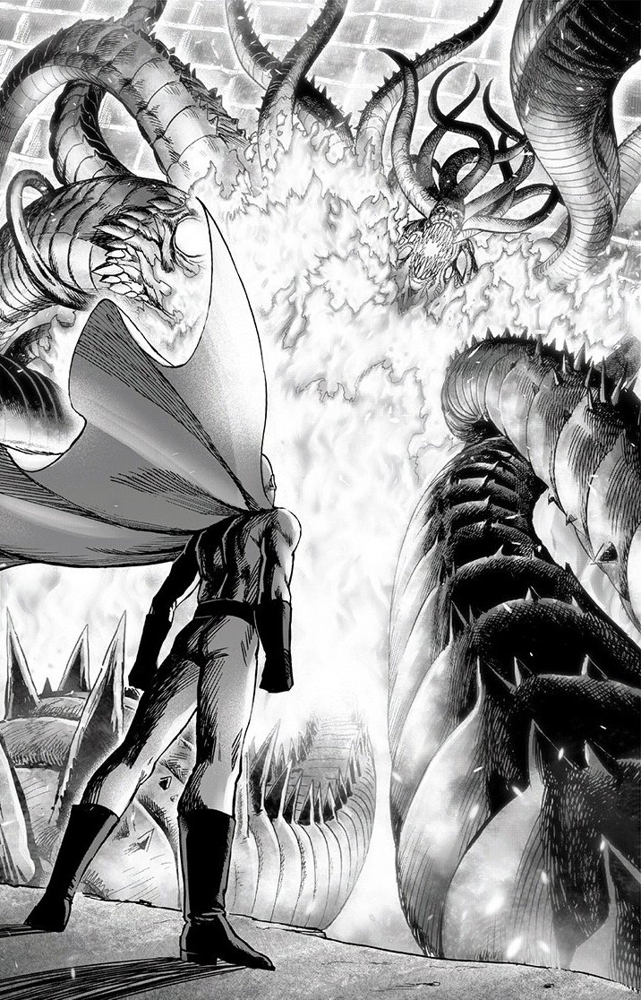 Saitama vs. Orochi | One Punch-Man Wiki | Fandom
