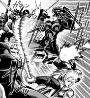 Escadron Privé de Rupin confronté aux héros épéistes