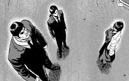 Арка группировка метель, манга