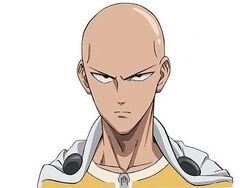 Saitama serious face