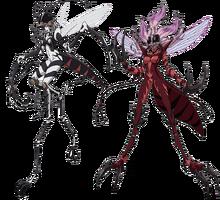Mosquito Girl Anime Design