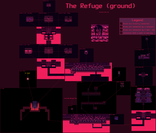 Refuge Ground Map