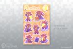 Niko sticker sheet