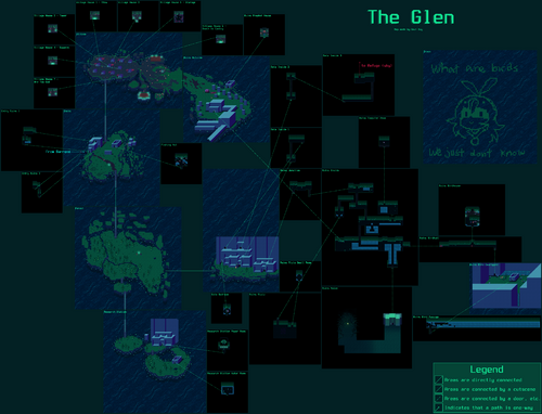 Glen Map