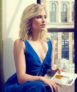 Dianna-agron-in-blue-dress-photo-hd