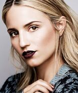 Dianna Agron Byrdie - Makeup Photo Shoot Fall 2013