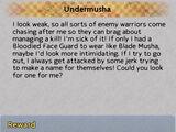 Undermusha