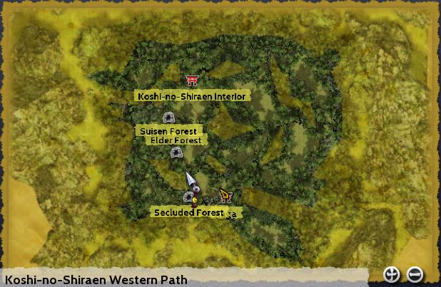 Koshi-no-Shiraen Western Path