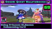 Onigiri Quest Walkthrough - Using Princess Kijimuna Summoning Card - Part 69🐲