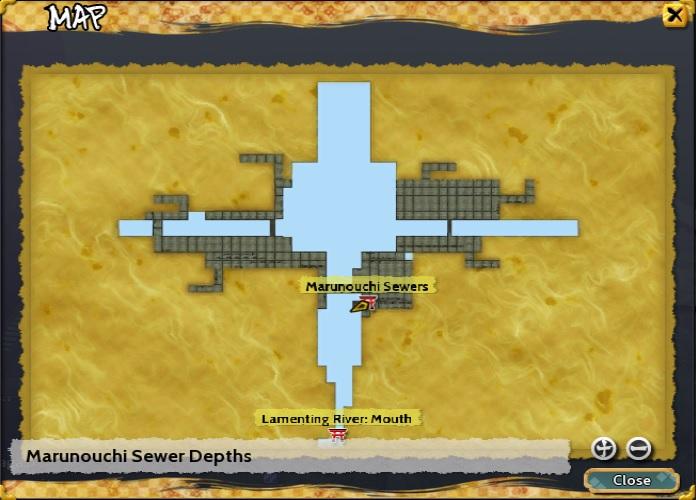 Marunouchi Sewer Depths