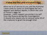 Fabre and the Lord of Poison's Egg