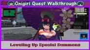 Onigiri Quest Walkthrough - Leveling Up Special Summons - Part 62🐲