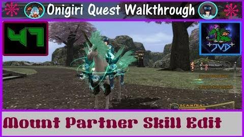 Onigiri Quest Walkthrough Mount Partner Skill Edit Part 47🐲