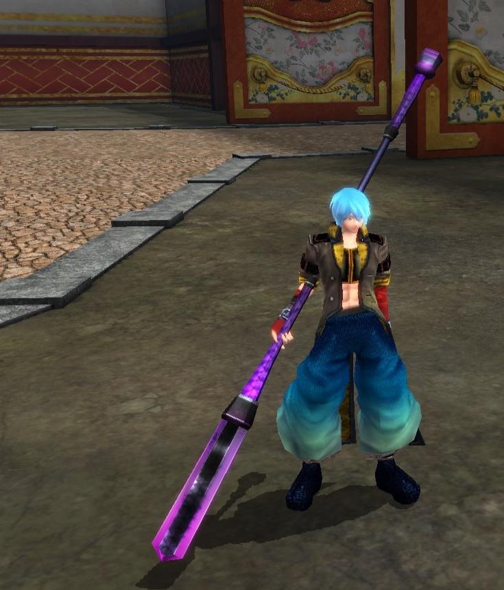 Dark Scaled Walnut Spear