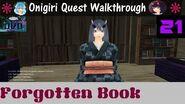 Onigiri Quest Walkthrough Forgotten Book Part 21