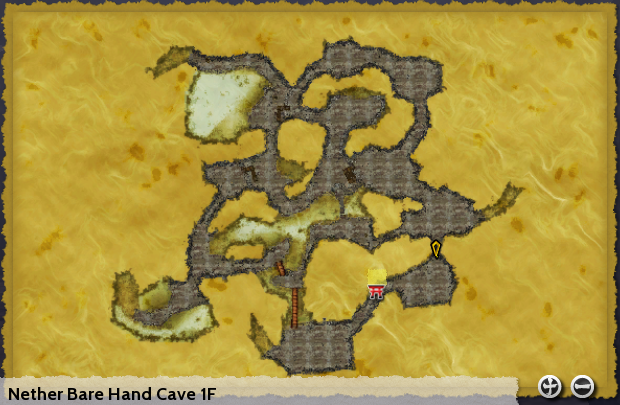 Nether Bare Hand Cave