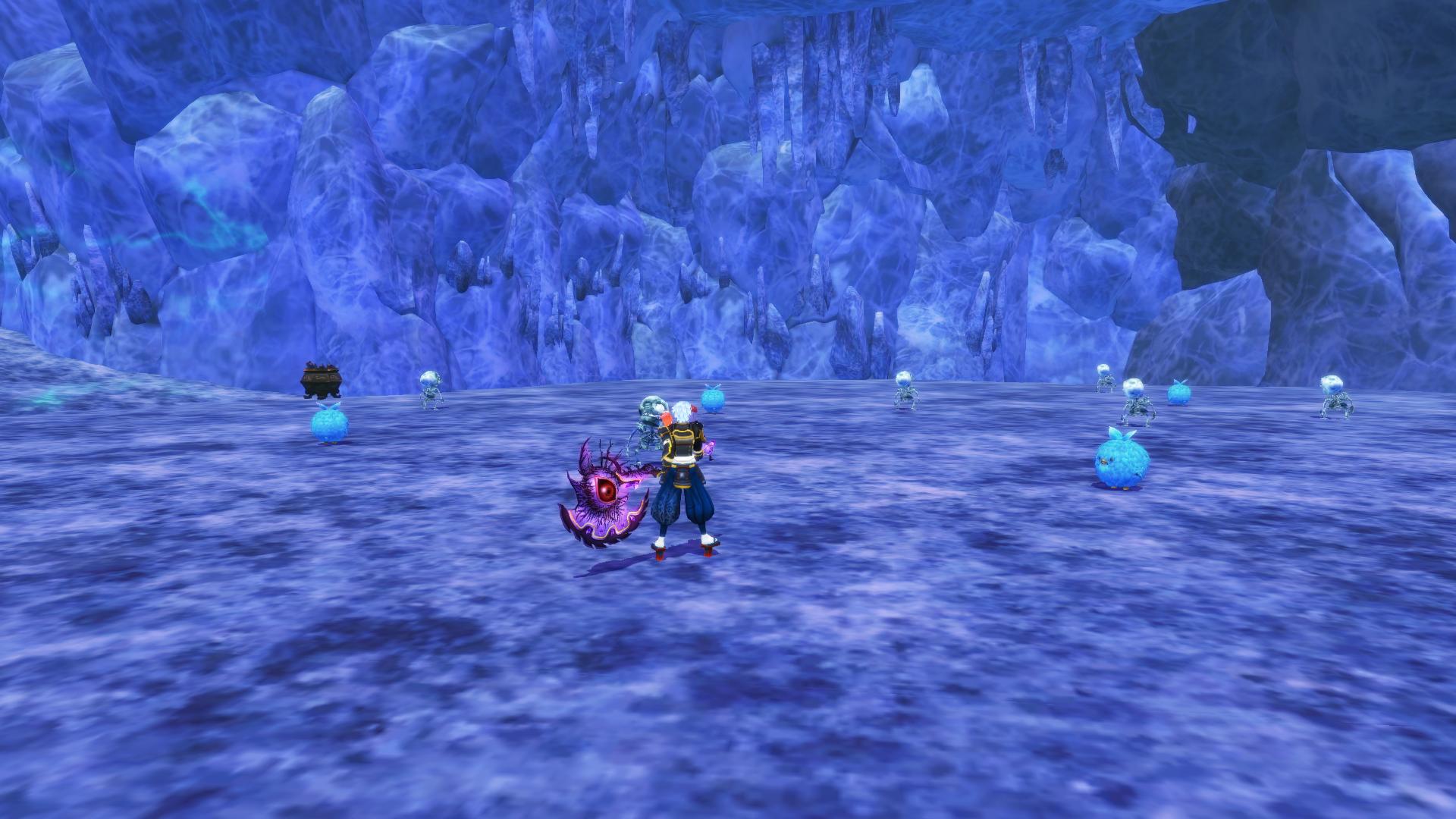 Ice Caverns (Shocking Mist)