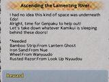 Ascending the Lamenting River