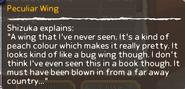 Peculiar Wing