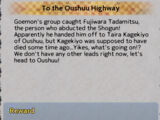 To the Oushuu Highway
