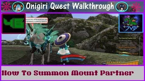 Onigiri Quest Walkthrough How To Summon Mount Partner Part 46🐲