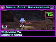 Onigiri Quest Walkthrough - Welcome To Sakurajima Cave - Part 75🌸🐲