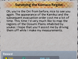 Surveying the Kumaso Region